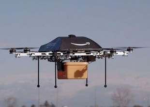 Amazon unveils futuristic mini-drone delivery plan, CEO Jeff Bezos
