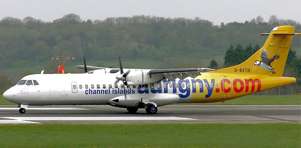 Never heard of` UK Aurigny airlines voted world's best carrier