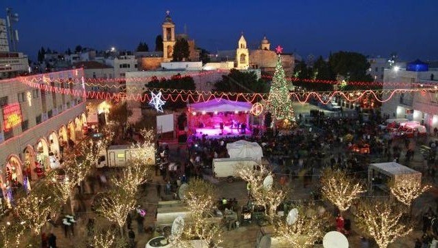 Worshippers rejoice in Bethlehem on Christmas Day