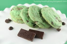 Mint Chocolate Chip Cookie Dough Bars