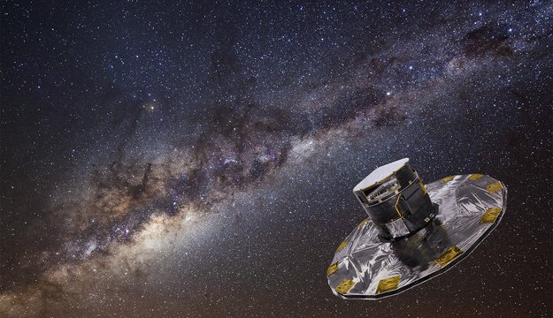ESA's Gaia mission to study a billion suns launched