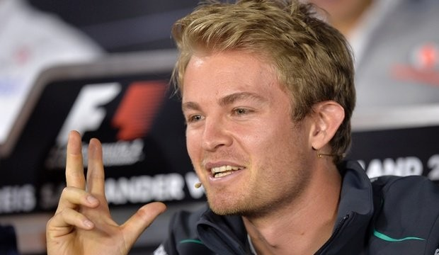 Rosberg's Mercedes car suffers tyre failure at 200 mph during Pirelli test