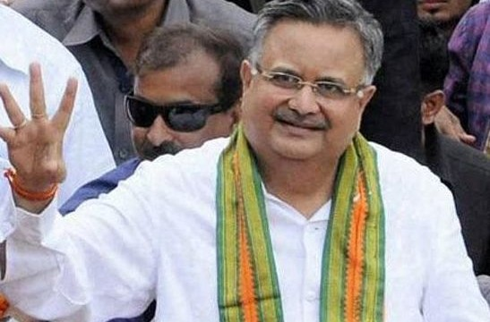 Raman Singh takes oath as Chhattisgarh CM