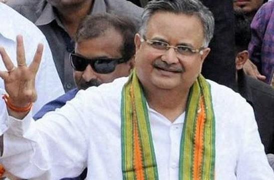 Raman Singh takes oath as Chhattisgarh CM