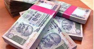 Rupee down 40 paise