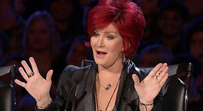 Sharon Osbourne donates 10,000 pounds to cancer patient
