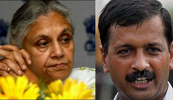 Sheila Dikshit trails to Kejriwal