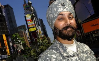 Why can't Sikhs with beards join US forces?