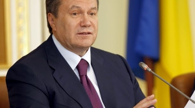 Ukraine president Viktor Yanukovich turns his back on turmoil, heads for China