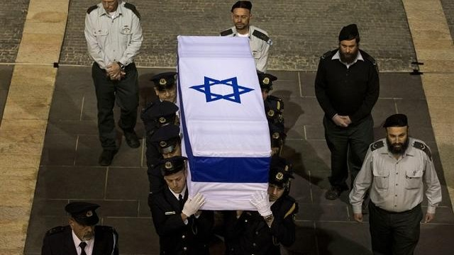 Israel holds memorial ceremony for Ariel Sharon
