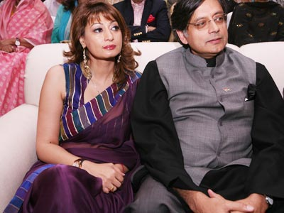 Shashi-Tharoor-and-Sunanda-Pushkar