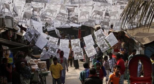India backs Bangladesh elections, slams violence