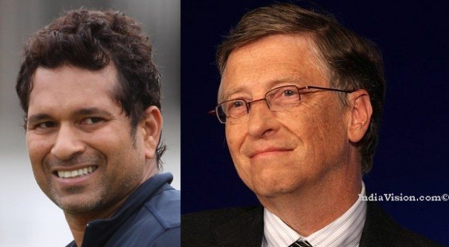 Microsoft founder Bill Gates most admired person in world, cricketing legend Sachin Tendulkar is fifth