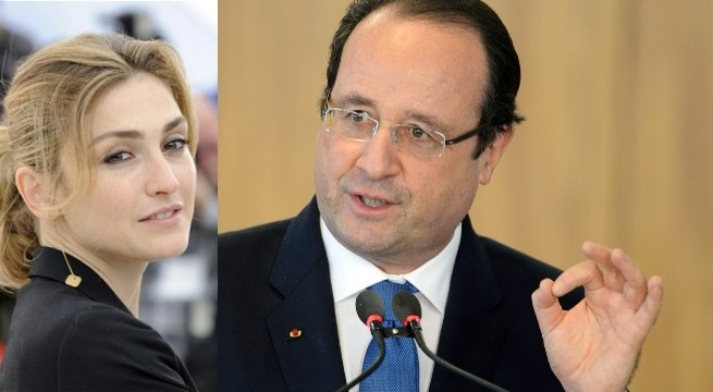 French magazine says President Francois Hollande having affair with actor