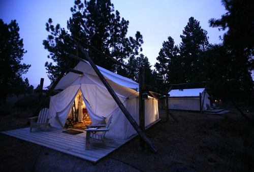 `Glamping`! The stylish new trend amongst campers