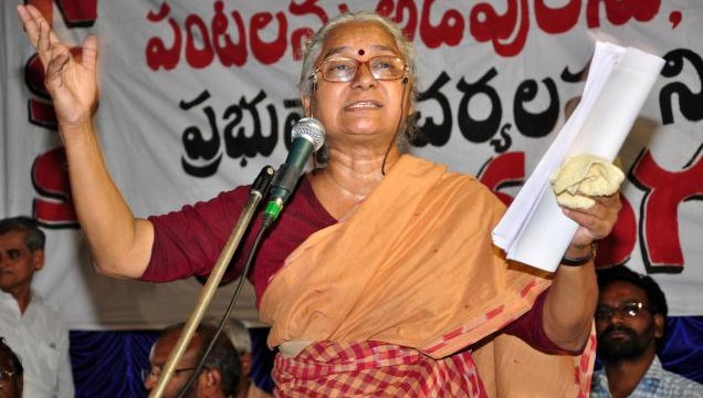 Social activist Medha Patkar announces support to Arvind Kejriwal-led Aam Aadmi Party (AAP)