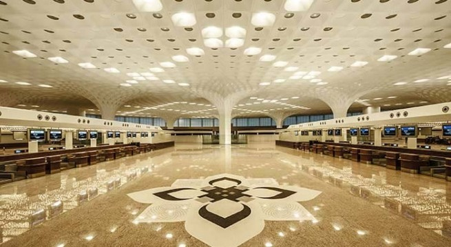 Mumbai's brand-new airport terminal -T2, built at a cost of over 12,500 crores