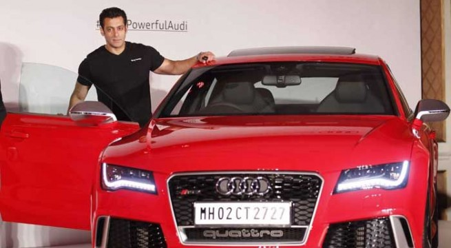 Bollywood superstar Salman Khan launches Audi RS 7 Sportback