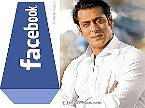 Bollywood actor Salman Khan beats Shah Rukh Khan on Facebook,12 million followers