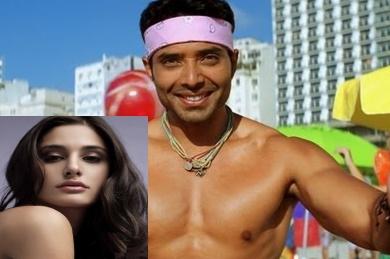 DHOOM boy Uday Chopra and Gf Nargis Fakhri spotted in swimwear