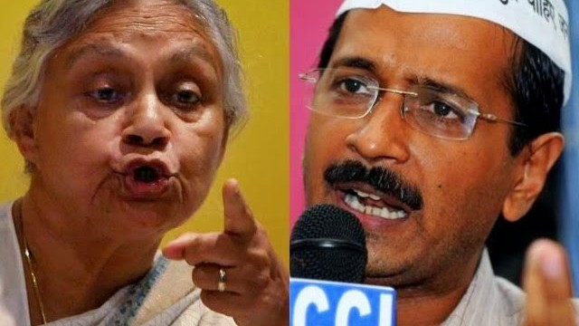 Arvind Kejriwal VS Sheila Dixit Jokes
