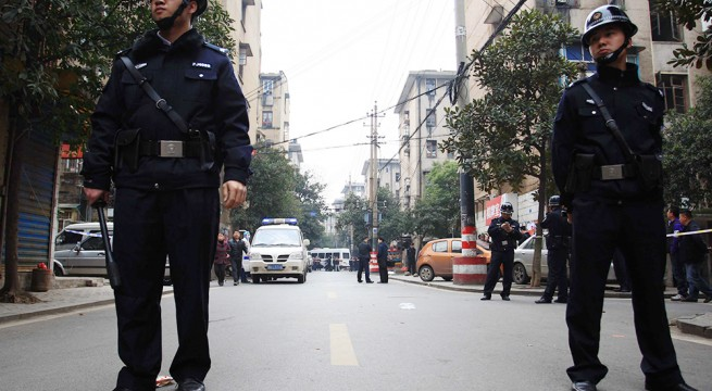 Knifemen killed three civilians in central China