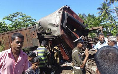 Sri Lanka Train Collision