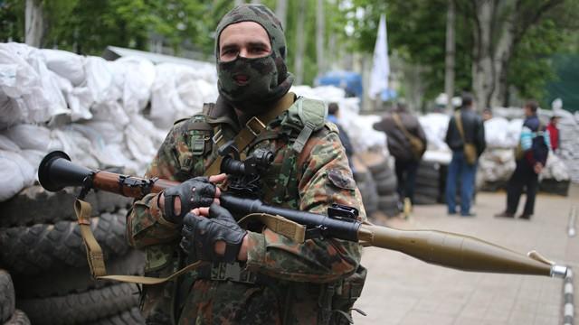 self-defense squad member In Slavyansk