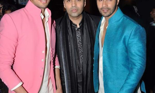 Karan-Johar-proudly-poses-finds-Siddharth