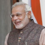 PM Narendra Modi seeks mother's blessings on 64th birthday
