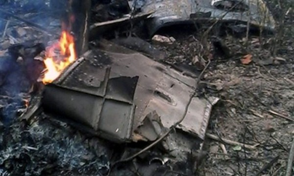 Military helicopter crashes in Vietnam
