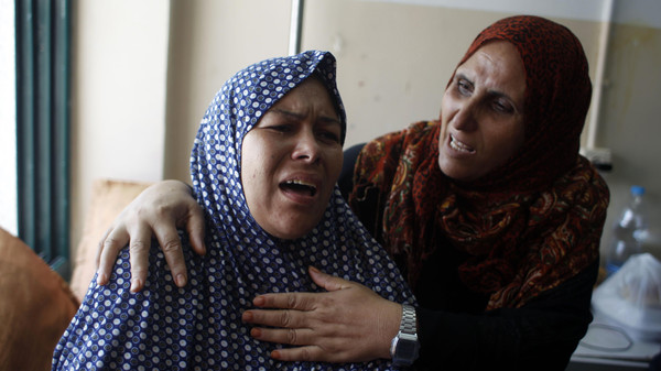 PALESTINIAN-ISRAEL-CONFLICT-GAZA-FUNERAL