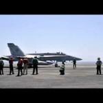 US jets again strike jihadists around Iraqi dam