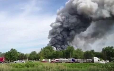 irework plant explosion