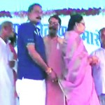 MP: MLA caught on camera wiping hands off ex-BJP MP's saree, calls it a prank