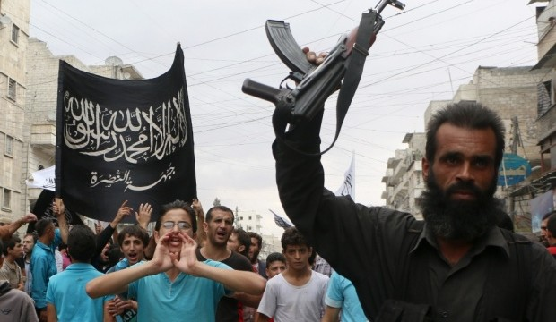 Nusra front supporters - Aleppo (AFP)