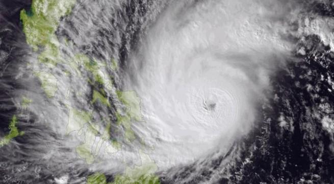 Philippines Typhoon-1