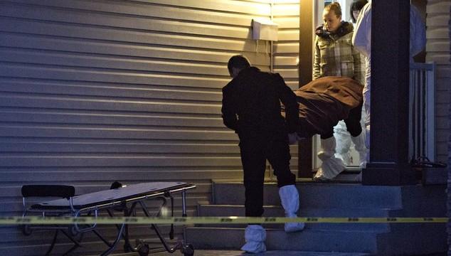 APTOPIX Canada Edmonton Deaths