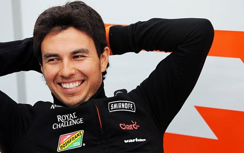Sergio Perez (MEX) Sahara Force India F1. Canadian Grand Prix, Thursday 5th June 2014. Montreal, Canada.