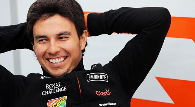 Sergio Perez (MEX) Sahara Force India F1. Canadian Grand Prix, Thursday 5th June 2014. Montreal, Canada.