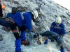 Bodies of climbers